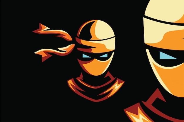 Logo ninja sport