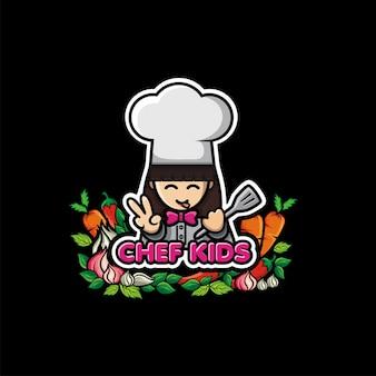Logo de niños chef