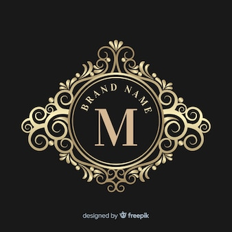 Logo ornamental elegante