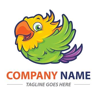 Logo de pájaro