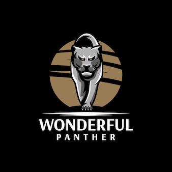 Logo de pantera