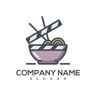 Logo de la pelicula de fideos