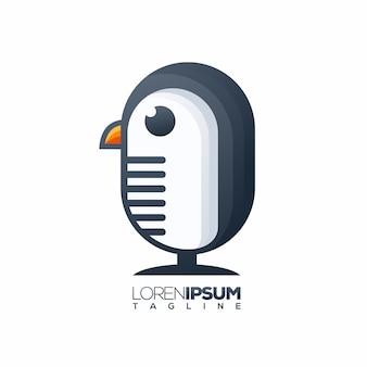 Logo de pinguino