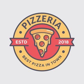 Logo de pizza