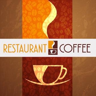 Logo de restaurante y café