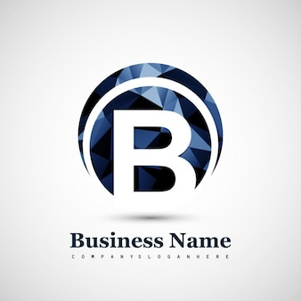 Logo de símbolo b