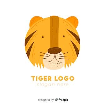 Logo tigre mono