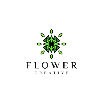 Logo unico flores
