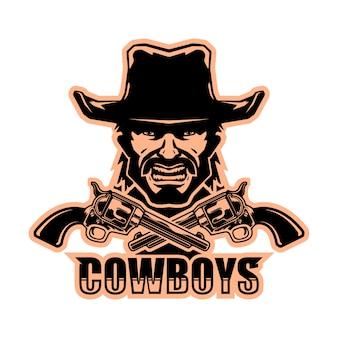 Logo de vaquero