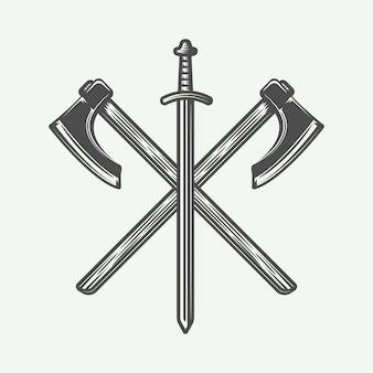 Logo de vikingos