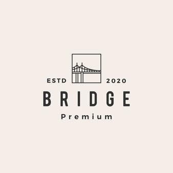 Logo vintage puente