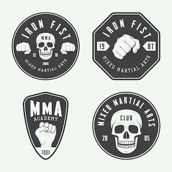 Logos de clubes de lucha, emblemas.
