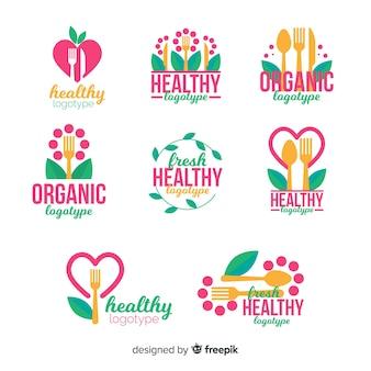 Logos comida sana planos