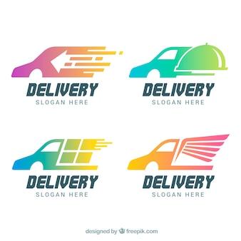 Logos de entrega para empresas