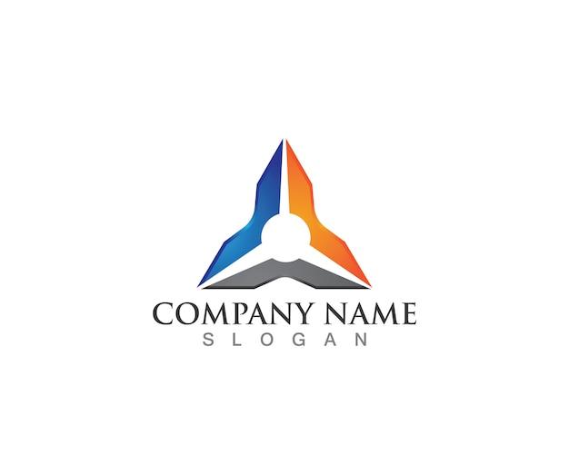 Logos triangulares