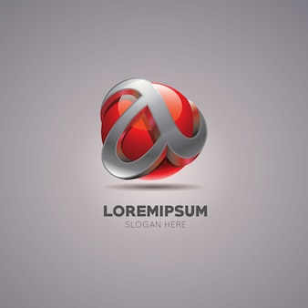 Logotipo abstracto a