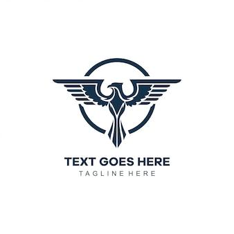 Logotipo del águila icónica