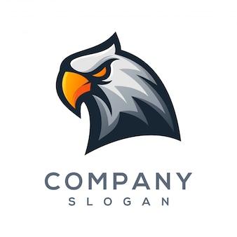 Logotipo de águila listo para usar