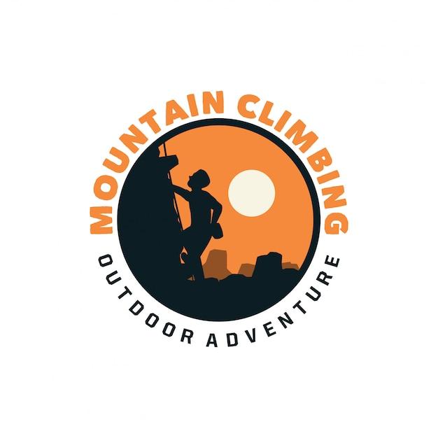 Logotipo de alpinismo