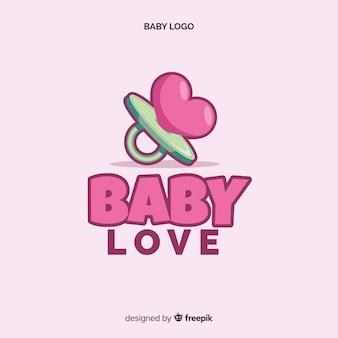Logotipo de amor de bebé