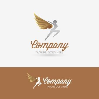 Logotipo de angel dance studio