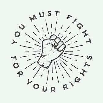 Logotipo de artes marciales mixtas