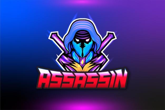 Logotipo de assassin gaming