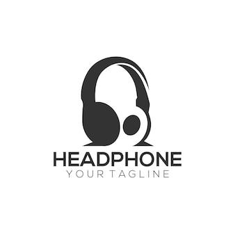 Logotipo de auriculares