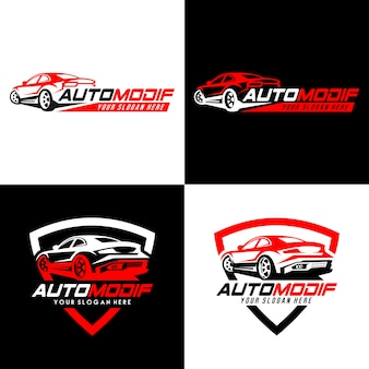 Logotipo automotriz y placas