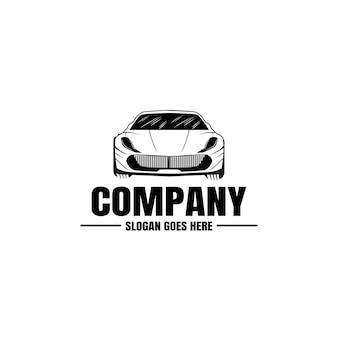 Logotipo del automóvil, plantilla de logotipo automotriz