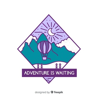 Logotipo de aventuras