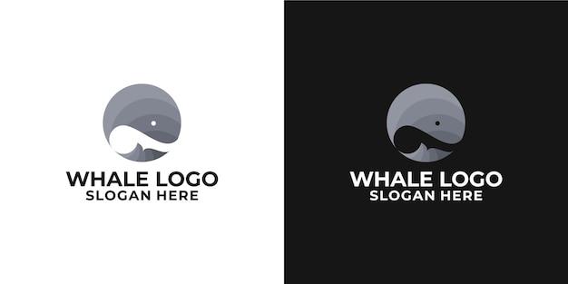 Logotipo de ballena