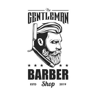 Logotipo de barbería