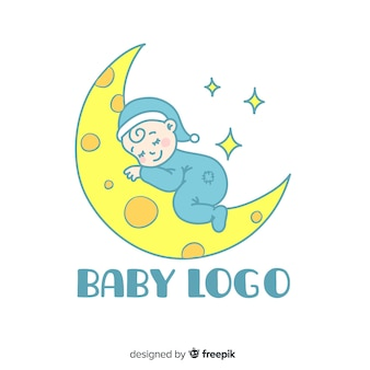 Logotipo con bebé
