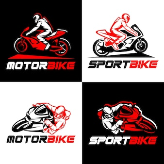 Logotipo de bicicleta deportiva