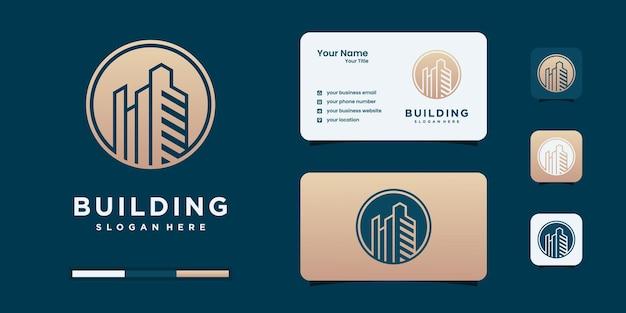 Logotipo de bienes raíces.