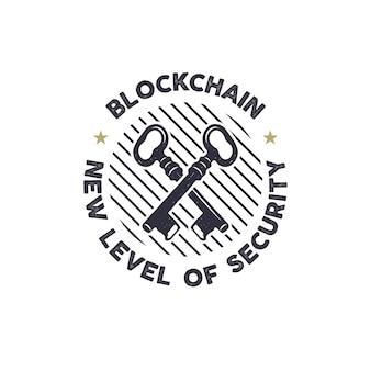 Logotipo de blockchain