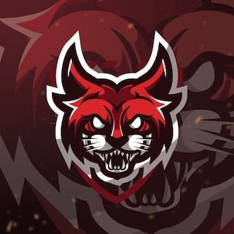Logotipo de bobcat esport