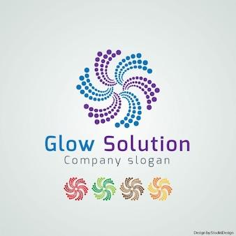 Logotipo de brillo