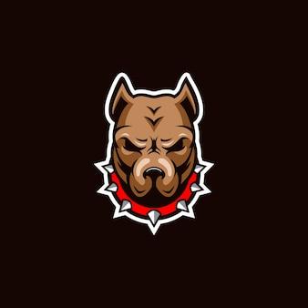Logotipo de bulldog impresionante inspiración