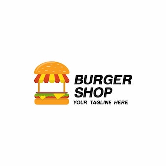 Logotipo de burger shop