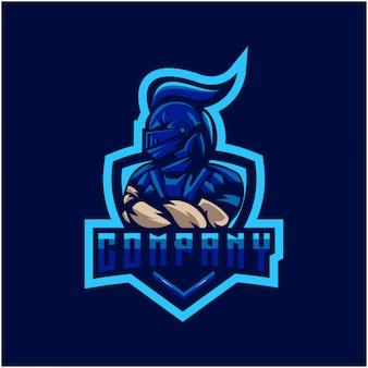 Logotipo de caballero