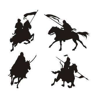 Logotipo de caballo de guerra