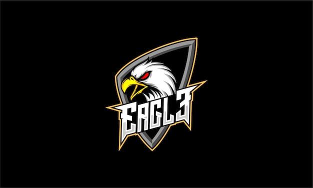 Logotipo de cabeza de águila