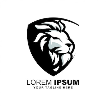 Logotipo de cabeza de león