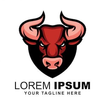 Logotipo de cabeza de toro