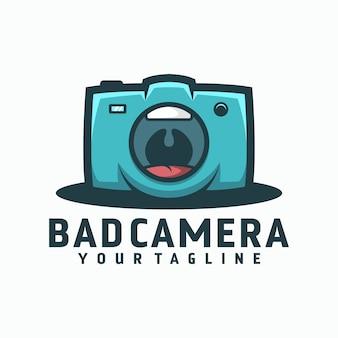 Logotipo de cámara mala