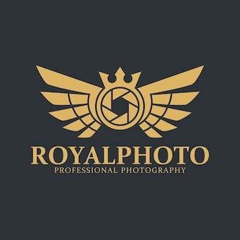 Logotipo de la cámara - royal photography studio