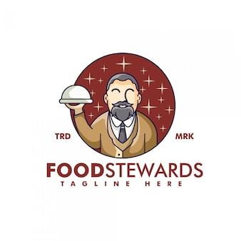 El logotipo del camarero