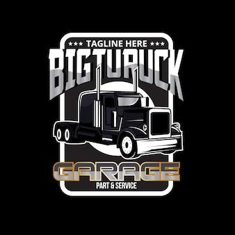Logotipo de camión grande